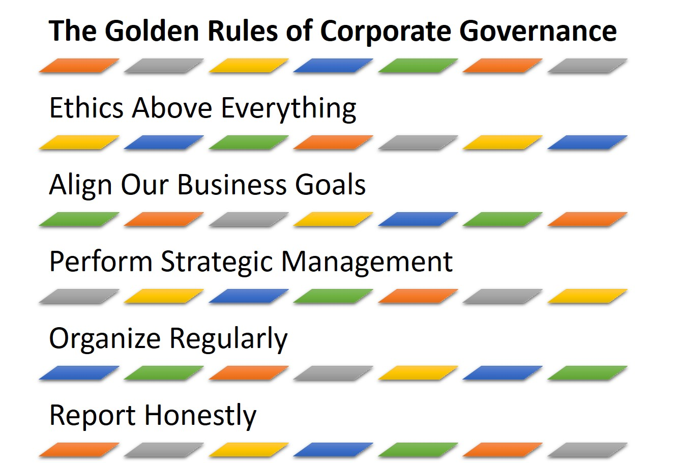 Accounting Sample Of Corporate Governance Practices