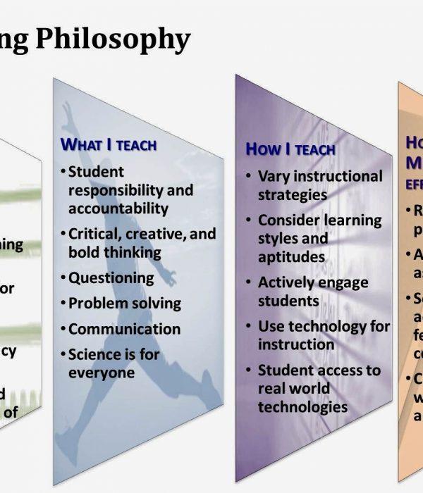Educational Sample Of Philosophy Teaching